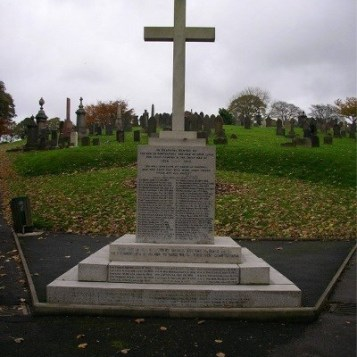 Rawtenstall municipal war memorial